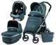 Коляска 3 в 1 Peg-Perego (Пег-Перего) Book 51 Pop Up Blue Denim (2017)  шасси Jet