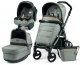 Коляска 3 в 1 Peg-Perego (Пег-Перего) Book 51 Pop Up Luxe Grey (2017) шасси Jet