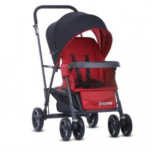Прогулочная коляска для погодок/двойни Joovy Caboose Graphite Красный